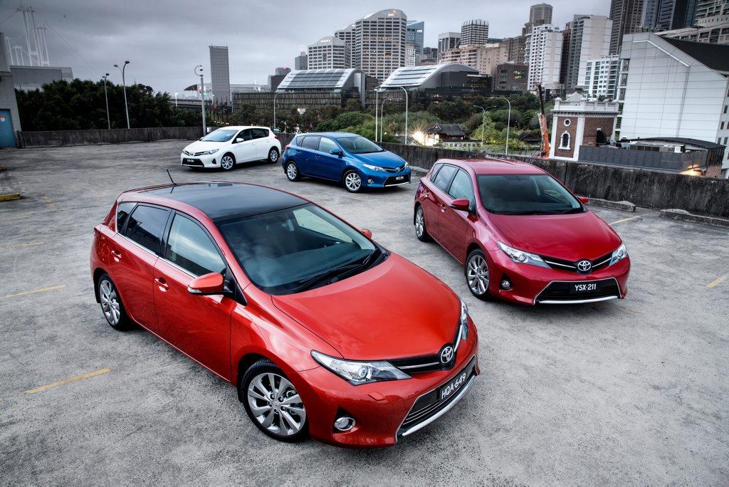 The new Toyota Corolla.