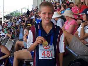 Junior competitors find gold at state athletics meeting