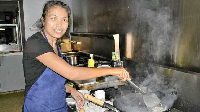 WOK ON: The Woodburn Bowling Club's Thai @ The Bowlo is serving up tasty favourites.