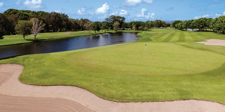RACV Royal Pines resort golf course.