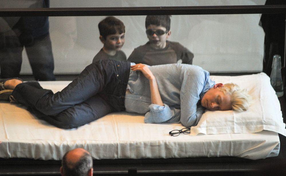 Tilda Swinton's 'The Maybe' exhibition.