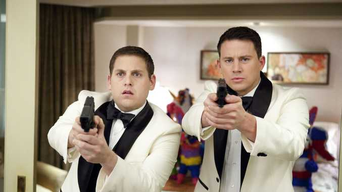 SUNSHINE Coast police have nabbed more than 100 motorists in first two days of Operation Jump Street. So here's Jonah Hill, left, and Channing Tatum in a scene from 21 Jump Street, a movie about police going undercover in schools. Supplied by Sony Pictures publicity website. Image: Scott Garfield.