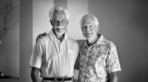 Twins Robert and John Gosbell.
