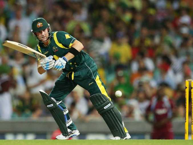 Michael Clarke of Australia plays a leg side shot during game four of the Commonwealth Bank One Day International Series between Australia and the West Indies at Sydney Cricket Ground on February 8, 2013 in Sydney, Australia.