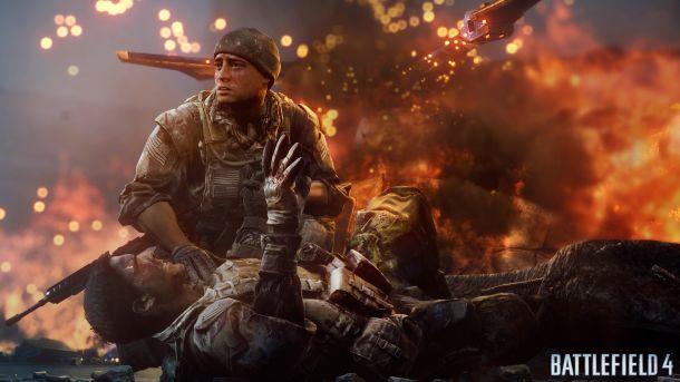 A leaked screenshot from Battlefield 4.