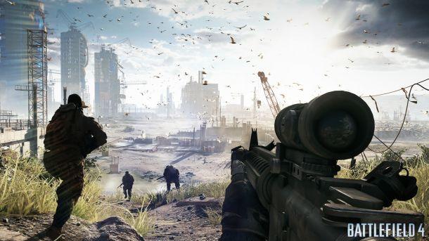 A leaked Battlefield 4 screenshot.