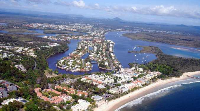 Aerial photos of the Sunshine Coast