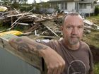 Stephen St resident Peter Wohlk looks over a neighbouring house that was demolished to make way for unit blocks.