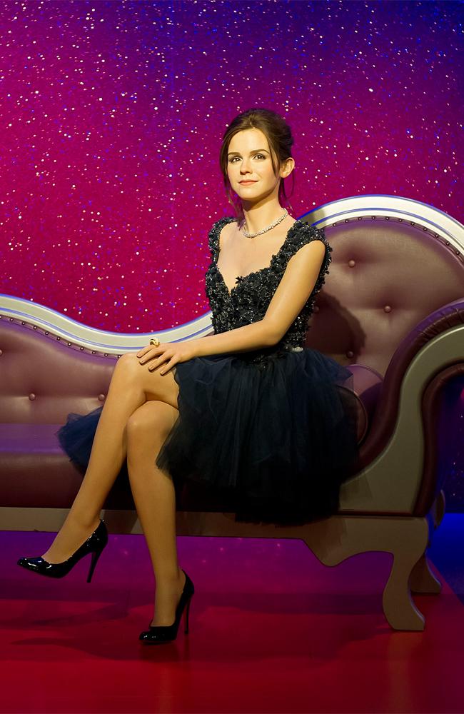 Emma Watson's Madame Tussauds wax figure.