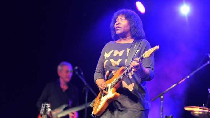 Joan Armatrading at Blues Festival, Byron Bay 2013.