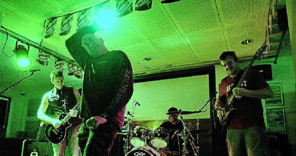 HEAVY: Ballina band Stone Mountain will play at the Slipway Hotel in Ballina on April 5.