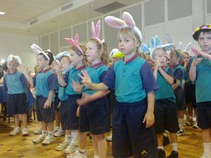 Kindy kids sing for Ballina RSL Day Club