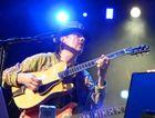 Carlos Santana in action.