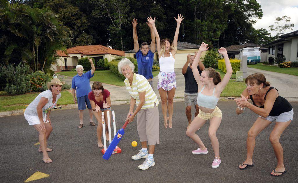 Neighbourhood cricket is a good indicator of a friendly neighbourhood.
