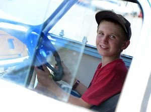 13-year-old Coby claimed gold at motorkhana state champs