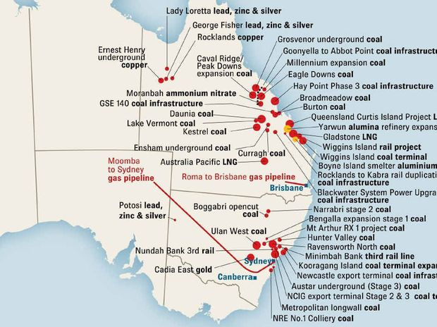 ADVANCED MINERALS AND ENERGY PROJECTS FOR QLD AND NSW