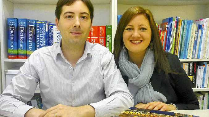 CULTURAL EXPERIENCE: Owners of French Moments language school Pierre and Rachel Guernier.