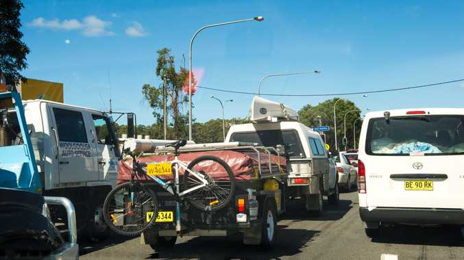 Police have appealed to motorists for caution on Monday when holiday traffic returns from the Easter break.