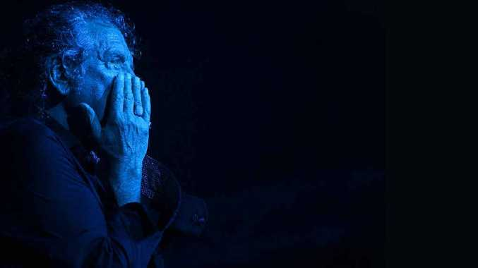 BLUES: Former Led Zeppelin frontman Robert Plant performs in the Mojo Tent at Bluesfest.