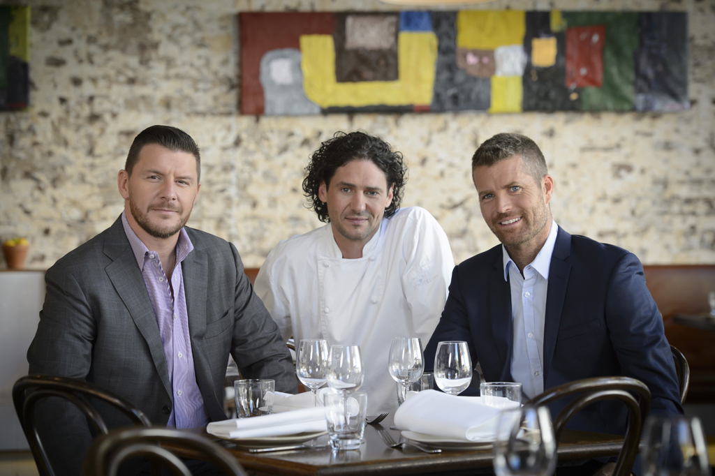 Judges Manu Feildel, Colin Fassnidge and Pete Evans will put the teams through their paces.