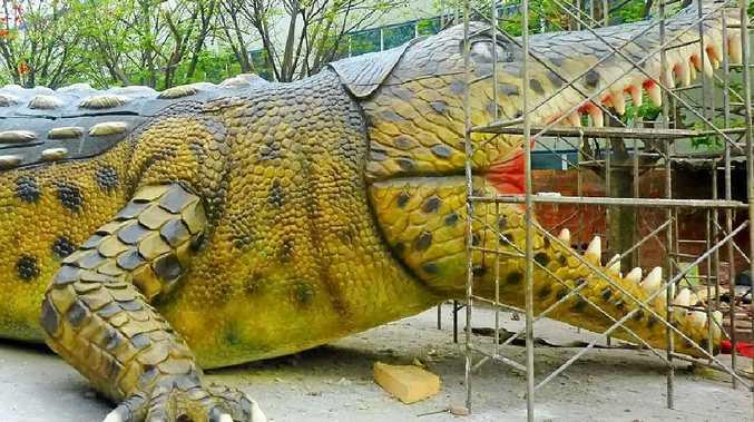 BIG BITE: The deinosuchus is coming to Coolum.