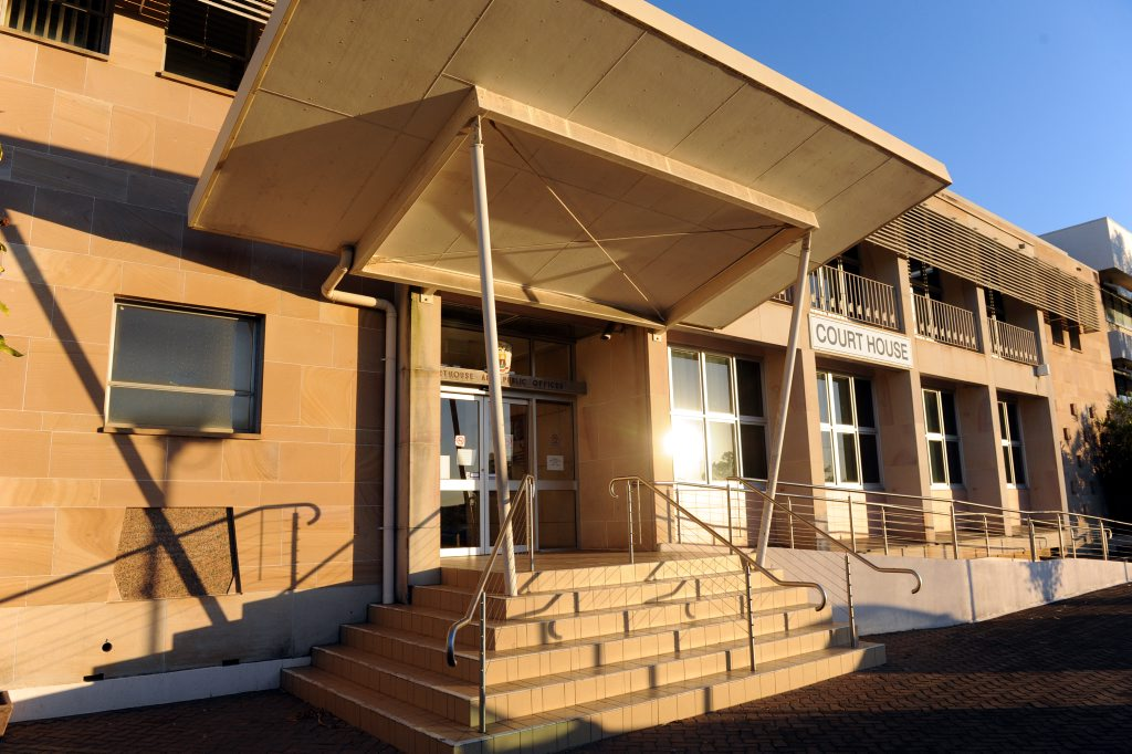 A man has appeared in Bundaberg Magistrates Court after he flashed his genitals at the Hinkler Central car park.