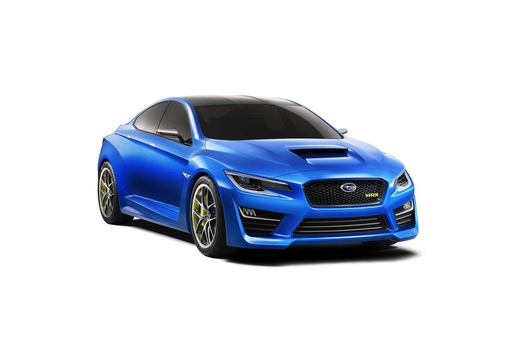 The Subaru WRX Concept.