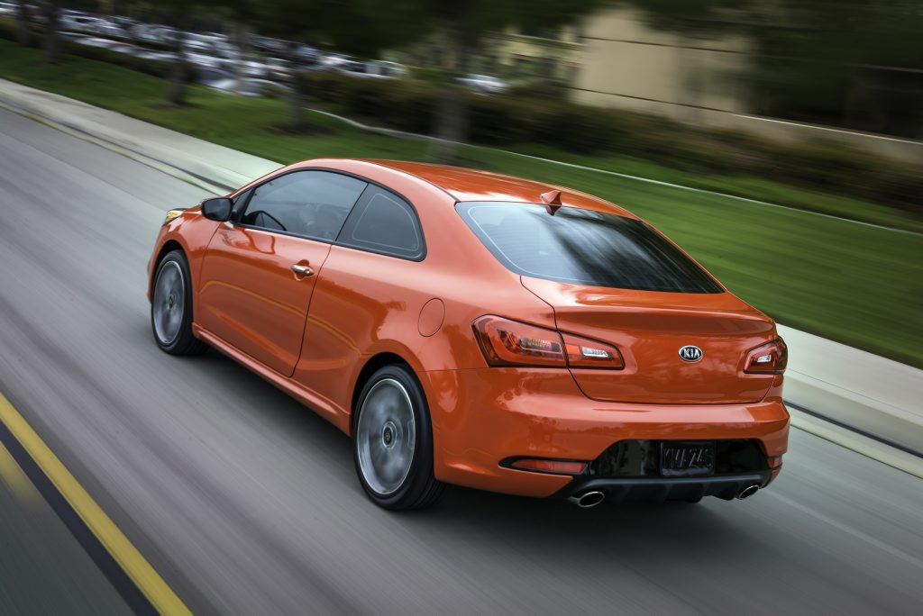Unveiled in New York, the new Kia Cerato Koup.