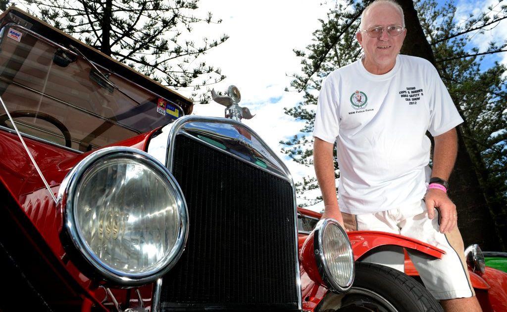 Australian street rod federation national side show in Coolangatta. Gary Thomas Photo: John Gass / Daily News