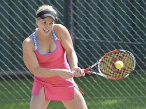 Women's Gold Cup tennis final