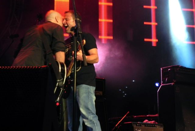 Peter Furler performed at Easterfest with original Newsboys' guitarist George Perdikis, as well as Paul Colman and Phil Joel.