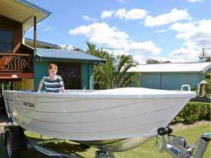 Wooli rescues Daniel's boating dream
