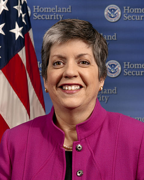 Janet Napolitano official portrait