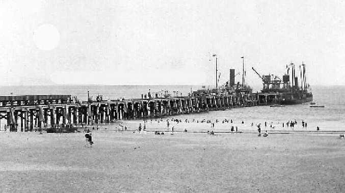 REMEMBER WHEN: Enjoying a swim near Byron Bay Jetty