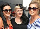 Gemma, Tahlia and Torrie Marshall were at the Lanes Easter Festival gigs yesterday.
