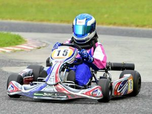 Gladstone's best karters test skills against Rocky rivals