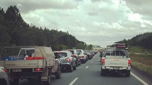 The Easter Monday traffic jam on the Bruce Highway shows why it needs to be upgraded.