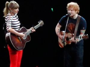 Ed Sheeran is tour buddies with Taylor Swift