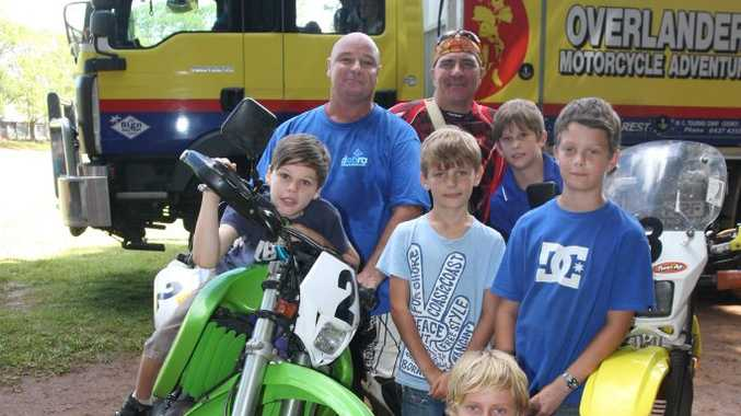 Buderim man Kevin Carr (second from left) is fundraising for people with Epidermolysis Bullosa.