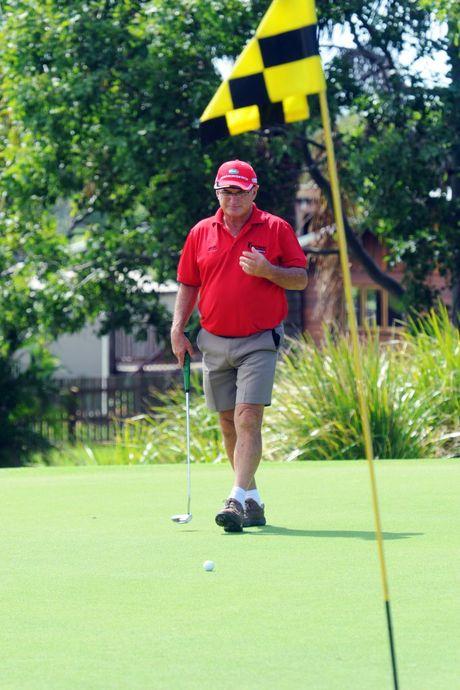 GOLF: Robert Craig playing a round of golf at Coral Cove Golf Club. Photo: Max Fleet / NewsMail