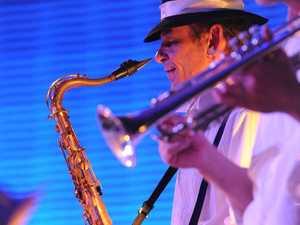 Jazz 'n' Shiraz on stage