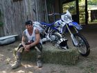 Mark Fonte has launched into the local market with his own brand of T-shirts and merchandise, which is giving motocross brands a run for their money.
