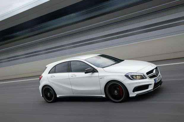 The Mercedes-Benz A 45 AMG will start from $74,900.