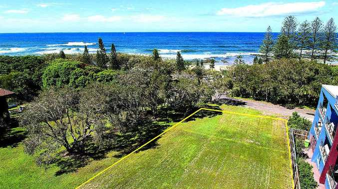 One of the best vacant parcels of land in the area, 19 Victoria Tce, Shelly Beach, will be offered by auction on Thursday, April 18, 2013.