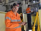 Terry Purcell, from Purcell's Engineering in Gladstone, has introduced smartphone apps to his business to streamline processes.