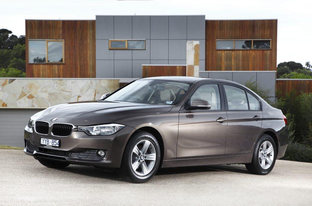BMW's new 316i.