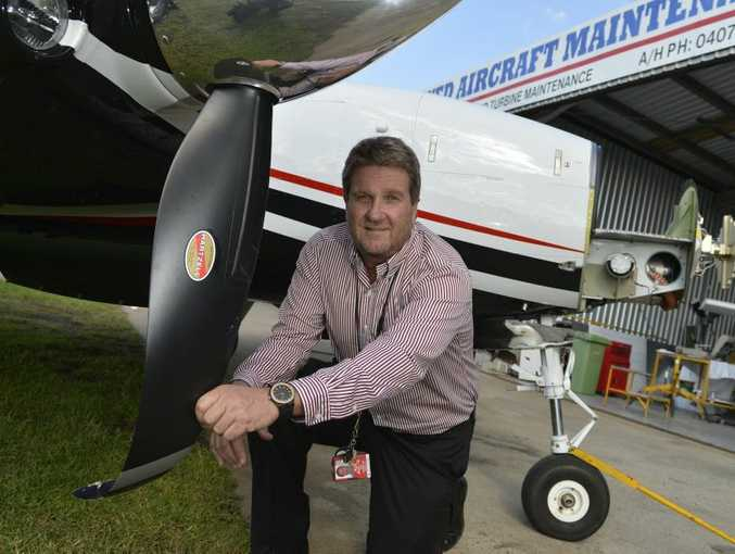 Mark Crampton relives the moment he had to land at Toowoomba Airport after the landing gear failed on his plane.