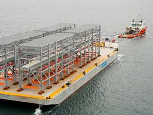 LNG modules arrive as next stage of construction begins
