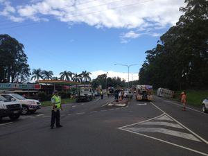 Crash causes peak-hour delays on Sunshine Coast