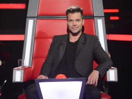 Ricky Martin stars on the TV series The Voice Australia.